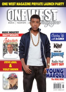 One West Magazine June August 2013 Issue Cover