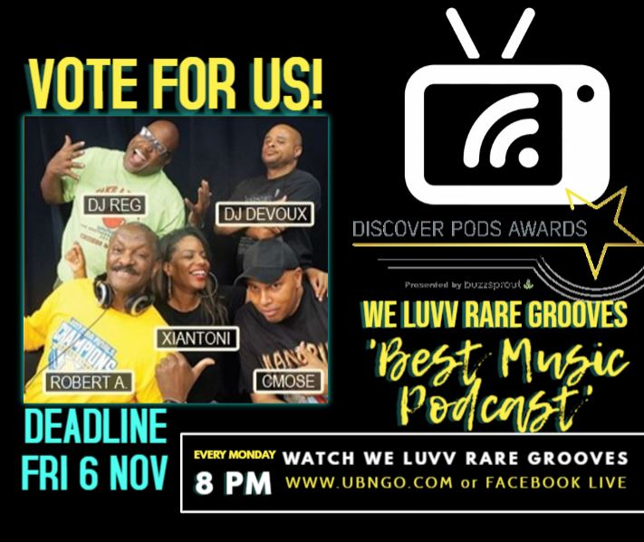 Vote For WLRG Best Music Podcast