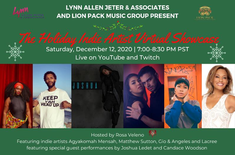 12-12-20 LAJ Holiday Showcase Line Up