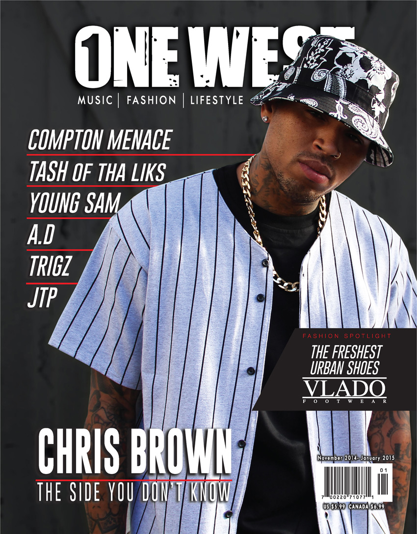 One West Magazine - Chris Brown Cover (November 2014 to January 2015)