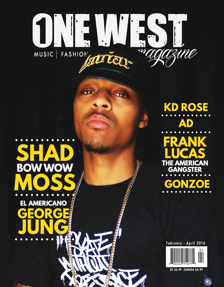 One West Magazine - Bow Wow Cover (February to April 2016)