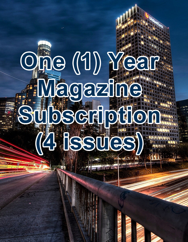 One Year Magazine Subscription (4 Issues)